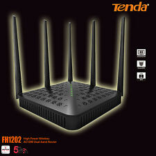 Tenda FH 1202 AC1200 Smart Dual-Band WiFi Router NBN Ready Faster Speed
