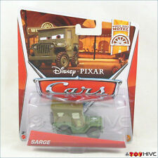 Disney Pixar Cars Sarge - Wheel Well Motel Collection 2013 Mattel #2/11