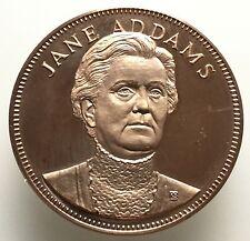 Jane Adams Gallery Of Gallery Americans Coin Medal