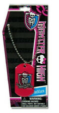 "Monster High Pink 18"" Adjustable Metal Necklace - New"