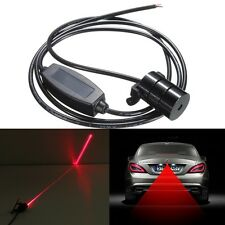 Auto Anti-Collision Laser Rear Tail Light Safety Signal Brake Warning Fog Lamp