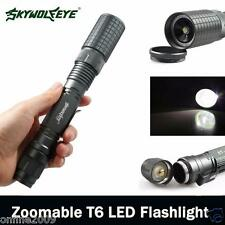 New Zoomable 4000 Lumen 5 Modes CREE XML T6 LED Torch Lamp Light 18650 & Charger