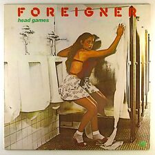"12"" LP - Foreigner - Head Games - M1010 - washed & cleaned"