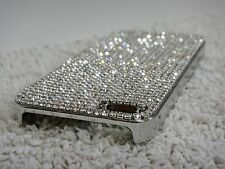 Clear Bling Shiny Swarovski Elements & Crystals Case Cover Skin for iPhone 5/5S