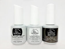 IBD Just Gel Polish- Soak-Off Kit 3pc: BASE + TOP + MATTIFY Matte TOP COAT .5oz