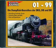 Ferrocarril Journal CD-dampflokbaureihen 01-99