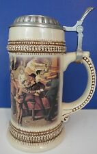 Paul Sebastian 1999 Limited Edition German Beer Stein with Bar Scene Mug Tankard