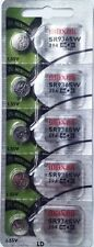 394 MAXELL WATCH BATTERIES SR936SW (5 pieces) New packaging Authorized Seller