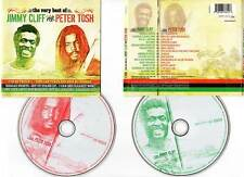 "JIMMY CLIFF - PETER TOSH ""The Very Best Of"" (2 CD) 30 Titres 2006"