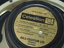 Vintage Rola Celestion G12M black back 25 watt 8 ohm