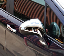 PEUGEOT 308 CHROME SIDE WING MIRROR CAPS COVERS 2pc