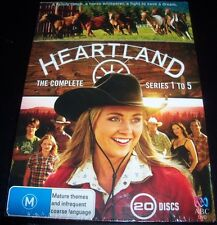 Heartland The Complete Series 1,2,3,4 & 5 (Australia Reg 4) DVD Box Set - New
