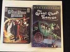 the great ghost rescue DVD-VG+ & HCDJ-MINT-eva ibbotson-RARE-halloween-haunt