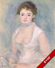 BEAUTIFUL WOMAN MADAME HENRIOT AUGUSTE RENOIR FRENCH PAINTING ART CANVAS PRINT