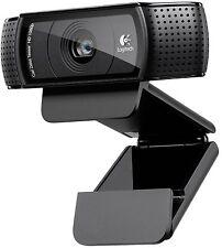 C920 logitech hd pro webcam 1080p/30 fps usb