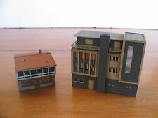 Vollmer N Scale 4-Story Downtown Bank Building #7729 & 7723 Photo Shop Store EX
