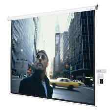 "Home Theater 120"" Inch Electric Motorized Projector Screen 4:3 Remote 96"" x 72"""
