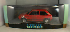 "Vitesse V18202 ◊ Volkswagen Golf 1 GTI 1976 ""Red"" ◊1/18 inbox/en boîte ◊"