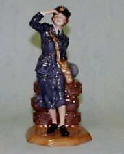 "ROYAL DOULTON WWII FIGURE ""WOMEN'S AUXILIARY AIR FORCE "" HN4554 - LTD.ED.2500"