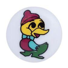 Pack of 4 Hemline Cartoon Winter Snuggly Duck Shank Back Buttons 15mm