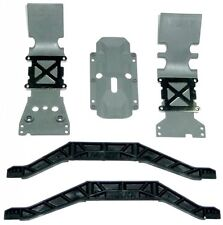Traxxas 1/10 E-Maxx Brushless Skid Plates & Chassis Braces and Parts