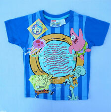 23% OFF! LICENSED SPONGEBOB SQUAREPANTS BABY BOY'S TEE 4T / 3-4 YRS BNWT PHP 259