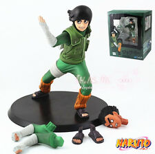 Anime Naruto Shippuden Rock Lee 14cm Toy Figure Doll New in Box