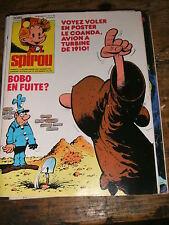 Spirou N° 2085 Aymone Sybilline BD 1978 Tif Tondu Sophie Sammy Oncle paul