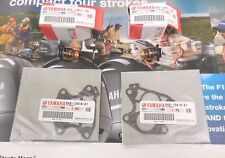 GENUINE YAMAHA THERMOSTAT 6E5-12411-30-00 AND GASKET 688-12414-A1-00 SET OF 2