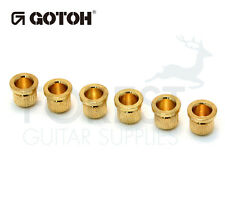 Gotoh TLB1 guitar string ferrules Telecaster® style gold set of 6