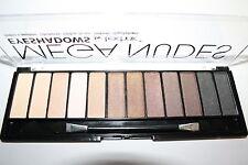 TECHNIC Mega Nudes Eyeshadow palette Lidschattenpalette (12 Farben) NEU&OVP