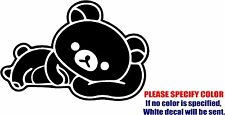 San-X Rilakkuma Decal Sticker JDM Funny Vinyl Car Window Bumper Wall Laptop 12""