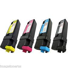 4Pk Toner Cartridge Set for Dell 2130 2130cn 2135 2135cn KCMY 330-1436 330-1438
