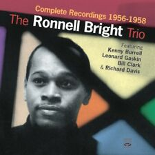 Ronnell Bright THE RONNELL BRIGHT TRIO COMPLETE RECORDINGS 1956-1958 (2 CD SET)