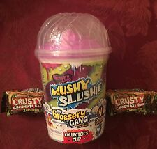 Grossery Gang MUSHY SLUSHIE Collector's Cup 4 Exclusive Grosseries And 2 Choc BB