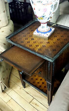Theodore Alexander Marquetry Lamp Table
