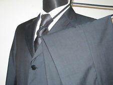 "Balmain Paris, 3 Button Blue, Wool Suit. Size 40""S Ch - 34W 30L Trs"