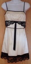 Guess Authentic Small Nightgown Cream Black Maid Halloween Lace Sexy Lingerie