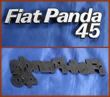 FIAT PANDA 45 - FREGIO OLD BADGE SCRITTA