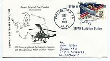 1984 Second Byrd Antarctic Expedition Philadelphia Kellett Autogiro Polar Cover