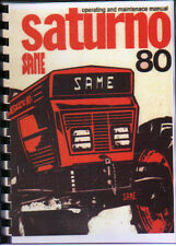 "SAME ""Saturno 80"" Tractor Operating and Maintenace Manual Book"