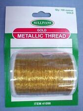 Sullivans Gold Metallic Thread