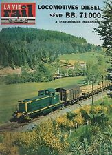 la vie du rail N°1061 du 11 septembre 1966 serie BB 71 000