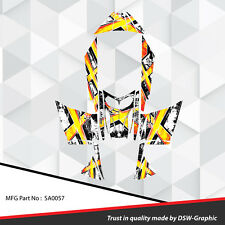 SLED WRAP GRAPHICS KIT DECAL STICKERS SKI-DOO REV MXZ SNOWMOBILE 03-07 SA0057