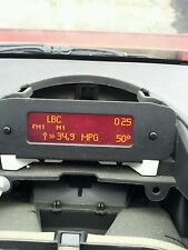 PEUGEOT 206 ppt40 radio Multiplex multilinea Info Display Panel