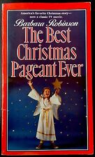 THE BEST CHRISTMAS PAGEANT EVER By Robinson ~ Nice Softcover Children's Book