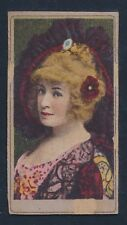 1901 T176 Sweet Caporal Cigarettes ACTRESS SERIES (Package Design) -Actress #12