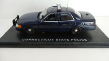 FIRST REPONSE CONNECTICUT STATE POLICE FORD CROWN VICTORIA 1:43 SCALE NIB.