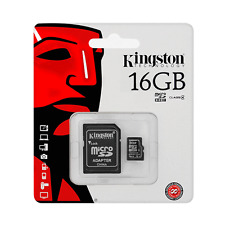 Kingston Micro SD 16GB SDHC ZTE Memory Card Microsd TF Mobile Phone Class 4