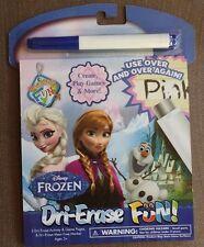 Disney Frozen Dri-Erase Fun Elsa Anna New Activities and Games